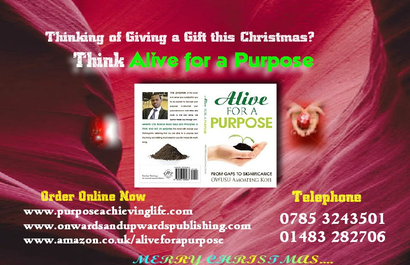 Book about Alive for a purpose